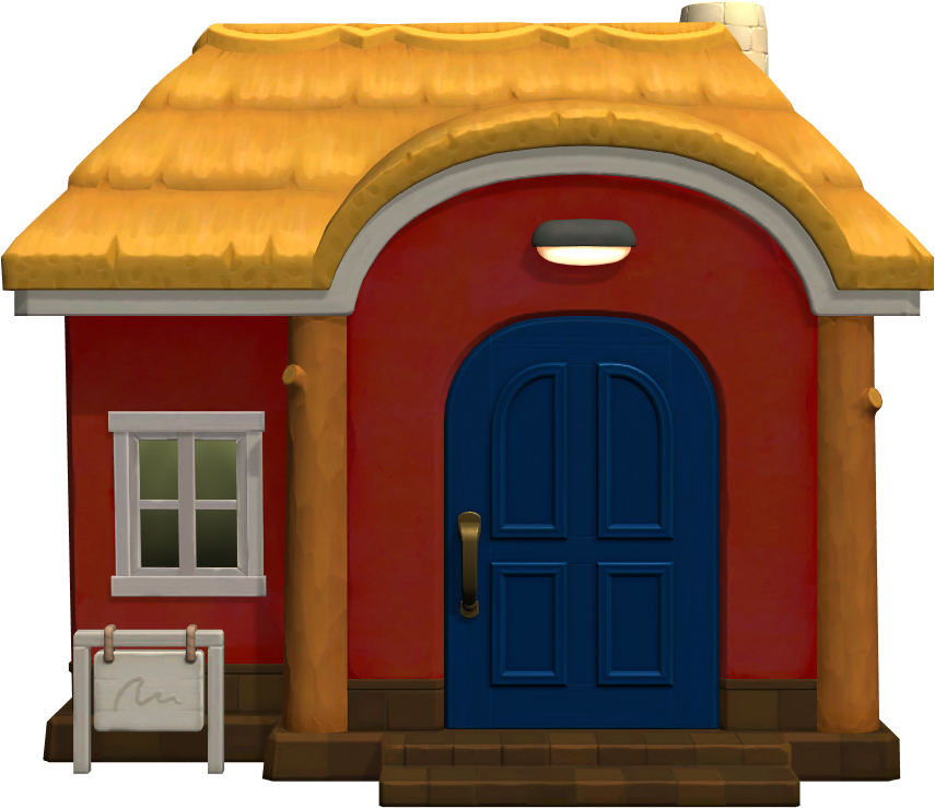 Exterior of Phoebe's house in Animal Crossing: New Horizons