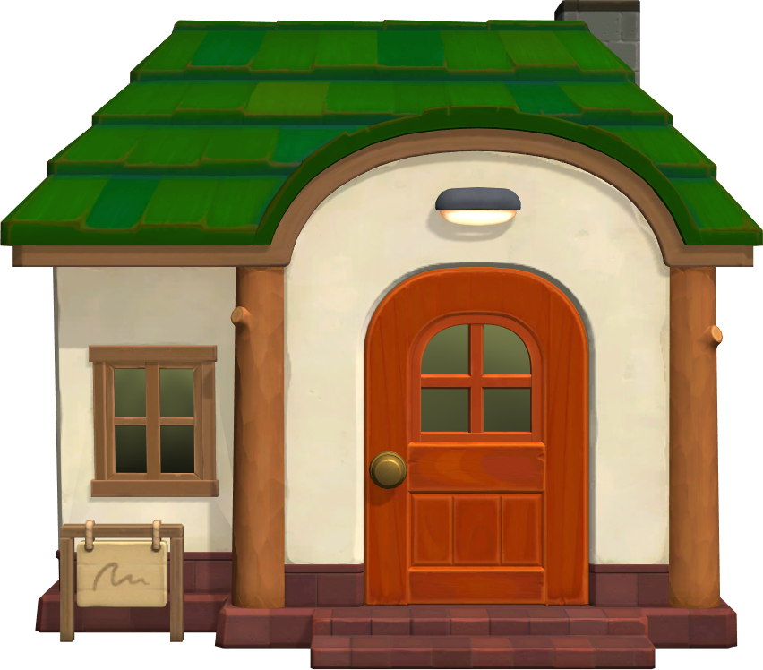 Exterior of Jacob's house in Animal Crossing: New Horizons