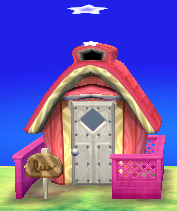 Exterior of Rocket's house in Animal Crossing: New Leaf