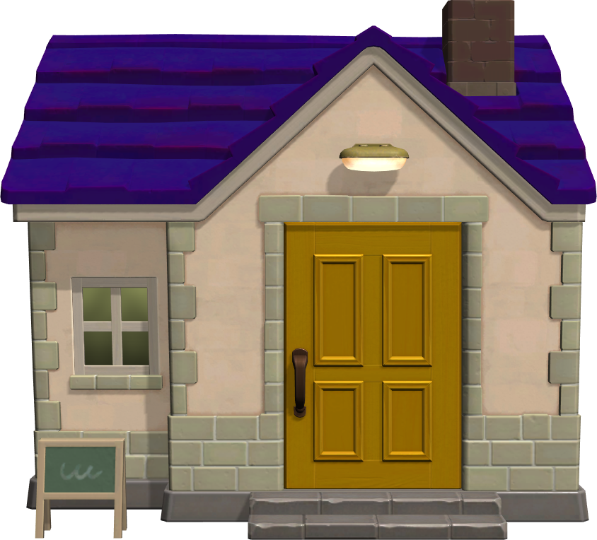 Exterior of Rod's house in Animal Crossing: New Horizons