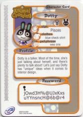 Animal Crossing-e 1-049 (Dotty - Back).jpg