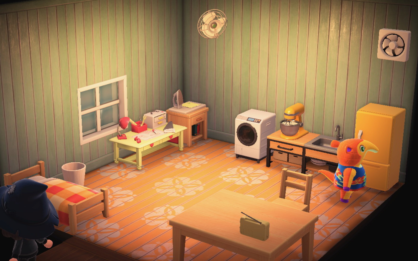 Interior of Anabelle's house in Animal Crossing: New Horizons