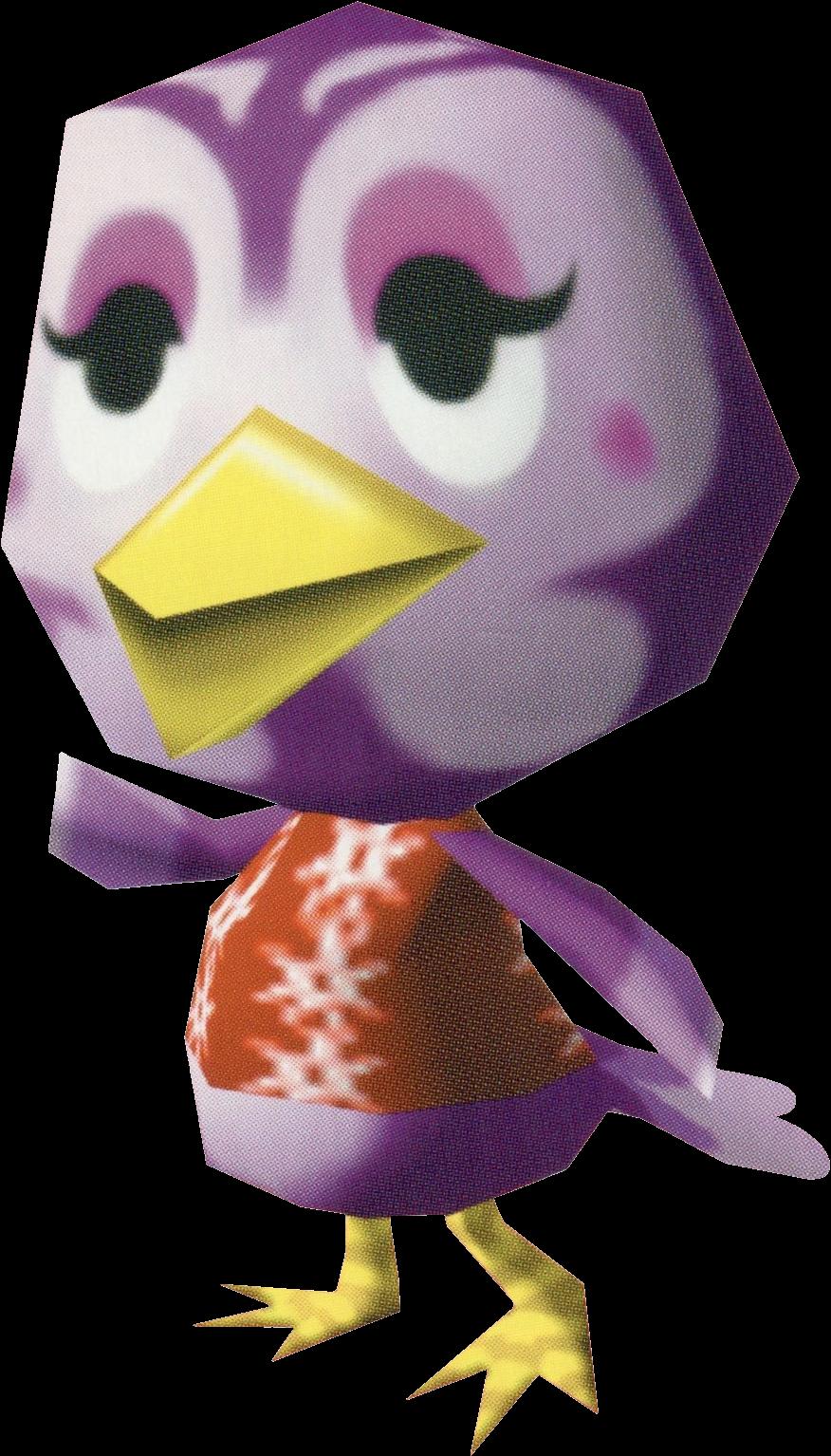 Artwork of Madam Rosa the Bird