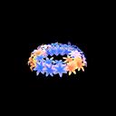Cool Hyacinth Crown