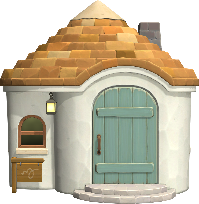 Exterior of Tipper's house in Animal Crossing: New Horizons