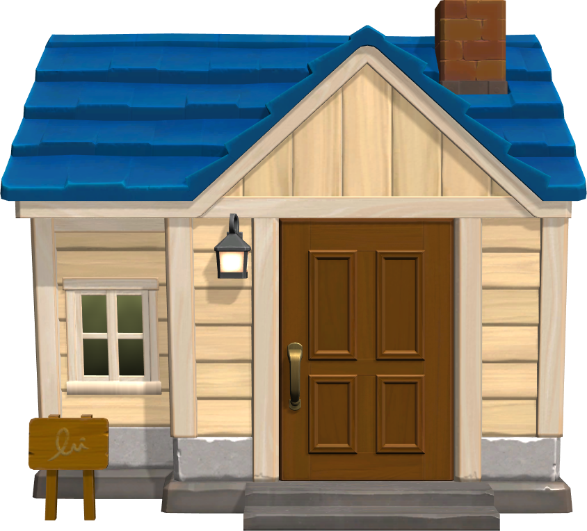 Exterior of Pippy's house in Animal Crossing: New Horizons
