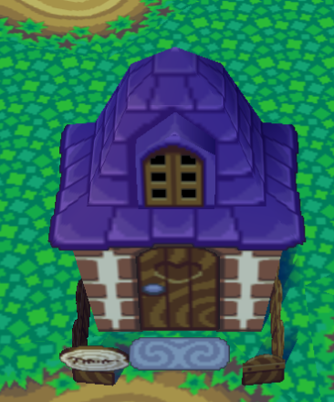 Exterior of Gruff's house in Animal Crossing