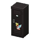 Upright Locker (Black - Pop) NH Icon.png
