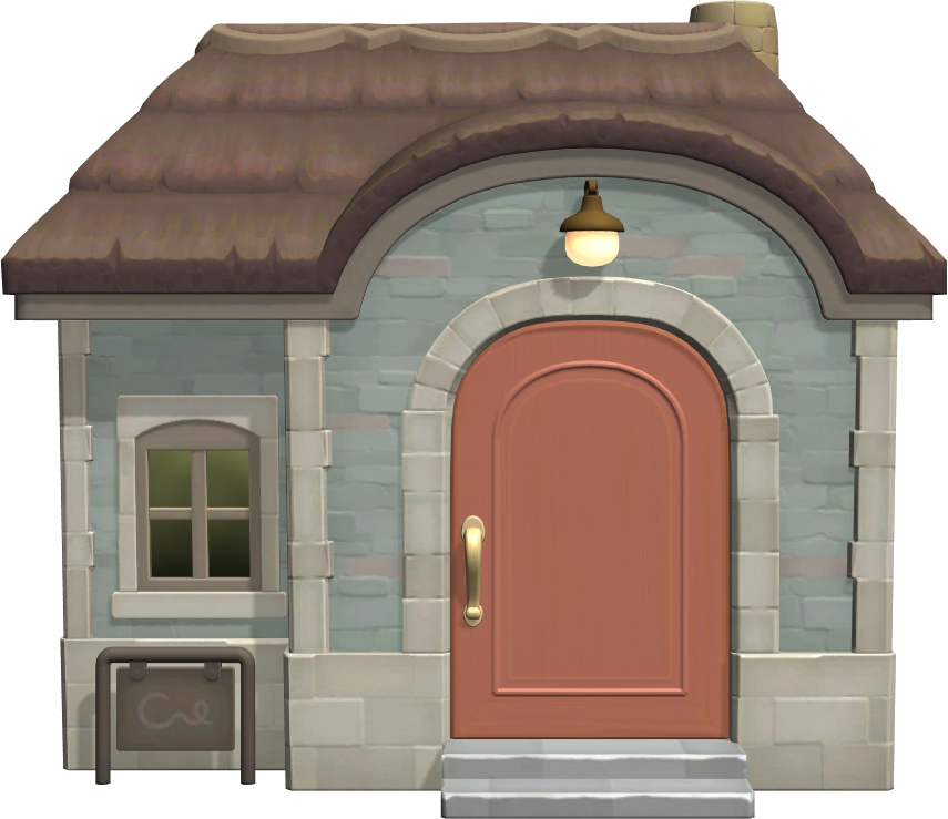 Exterior of Gala's house in Animal Crossing: New Horizons