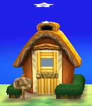 Exterior of Leonardo's house in Animal Crossing: New Leaf