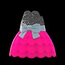 Bubble-Skirt Party Dress