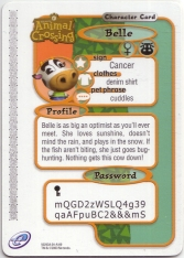 Animal Crossing-e 3-149 (Belle - Back).jpg