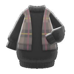 Shawl-and-Dress Combo