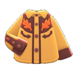 Cowboy Shirt (Brown) NH Icon.png