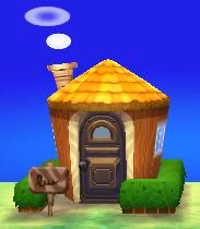 Huck's house exterior