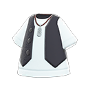 Gilet and Shirt