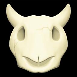 Imitation Cow Skull