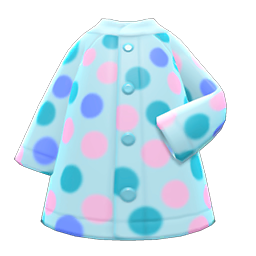 Dotted Raincoat