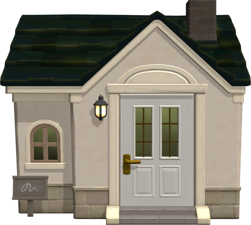 Exterior of Apollo's house in Animal Crossing: New Horizons