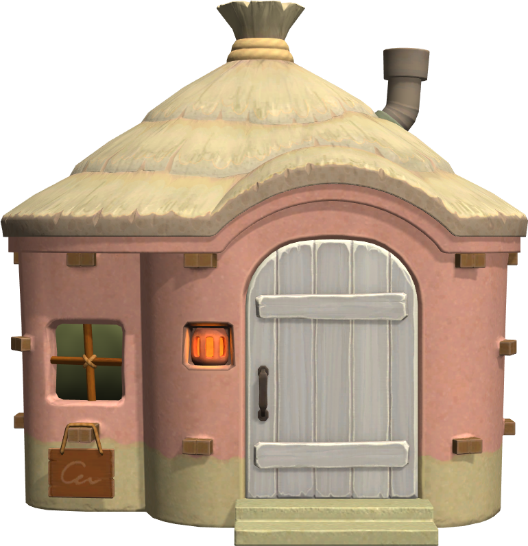 Exterior of Norma's house in Animal Crossing: New Horizons