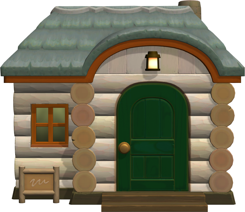 Exterior of Tad's house in Animal Crossing: New Horizons