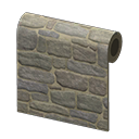 Rustic-Stone Wall