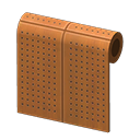 Perforated-Board Wall