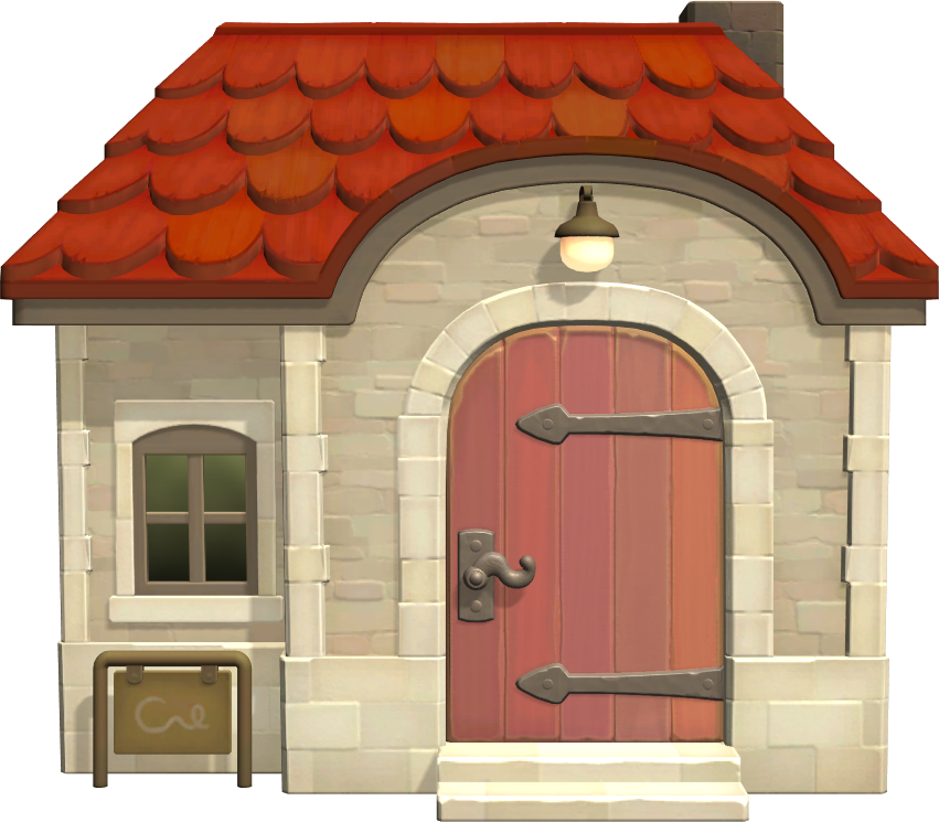 Exterior of Midge's house in Animal Crossing: New Horizons