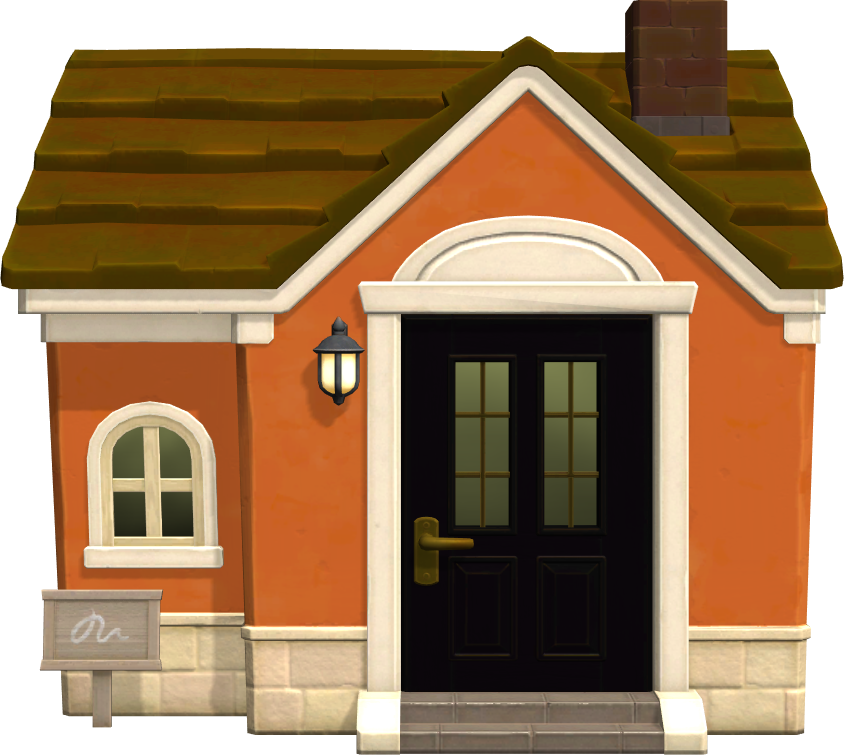 Exterior of Cesar's house in Animal Crossing: New Horizons