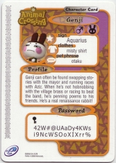 Animal Crossing-e 4-216 (Genji - Back).jpg