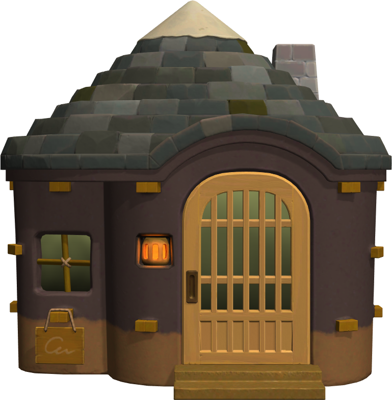 Exterior of Avery's house in Animal Crossing: New Horizons