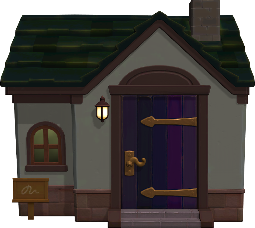 Exterior of Nan's house in Animal Crossing: New Horizons