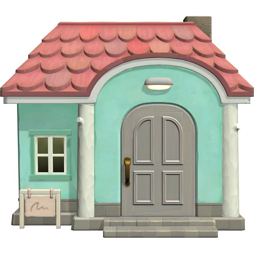 Exterior of Chai's house in Animal Crossing: New Horizons