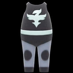 Wrestler Uniform (Black) NH Icon.png