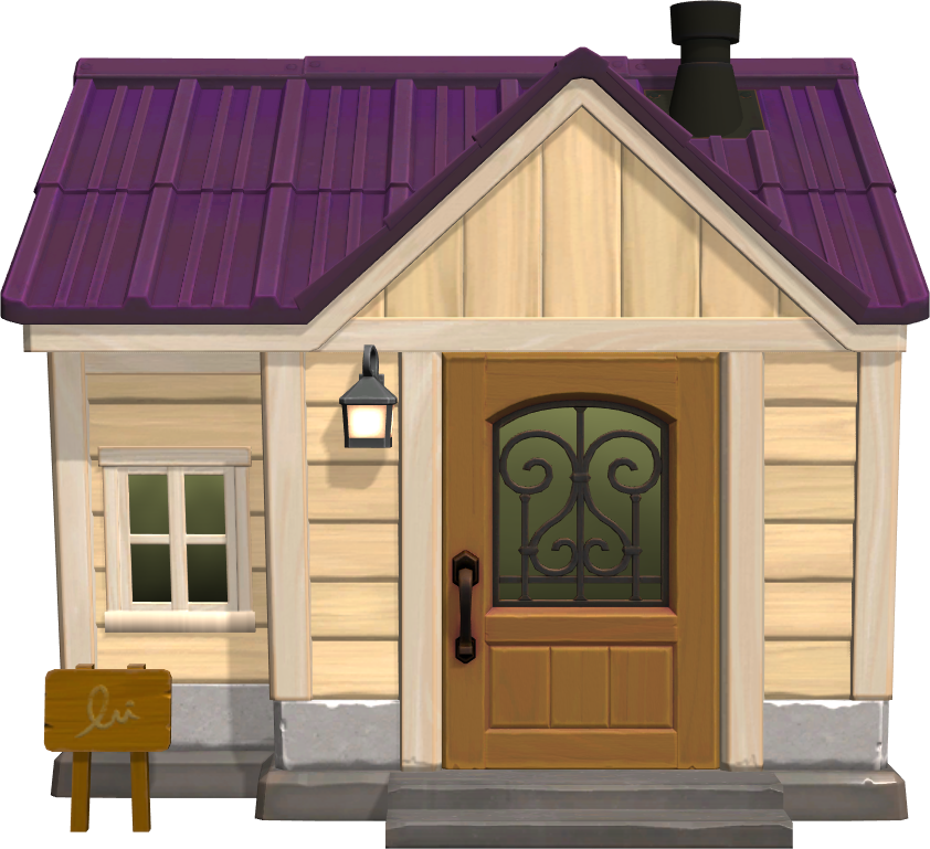 Exterior of Cleo's house in Animal Crossing: New Horizons