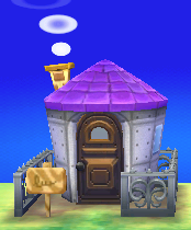 Becky's house exterior
