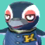 Tex's picture in Animal Crossing: New Leaf