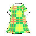 Lively Plaid Dress
