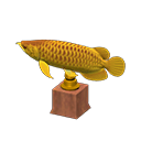 Golden Arowana Model