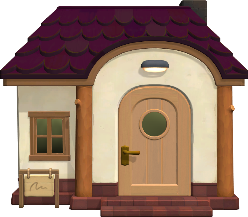 Exterior of Rhonda's house in Animal Crossing: New Horizons