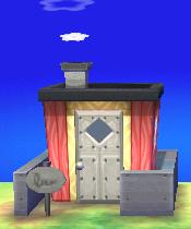 Bella's house exterior