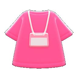 Staff Uniform (Pink) NH Icon.png