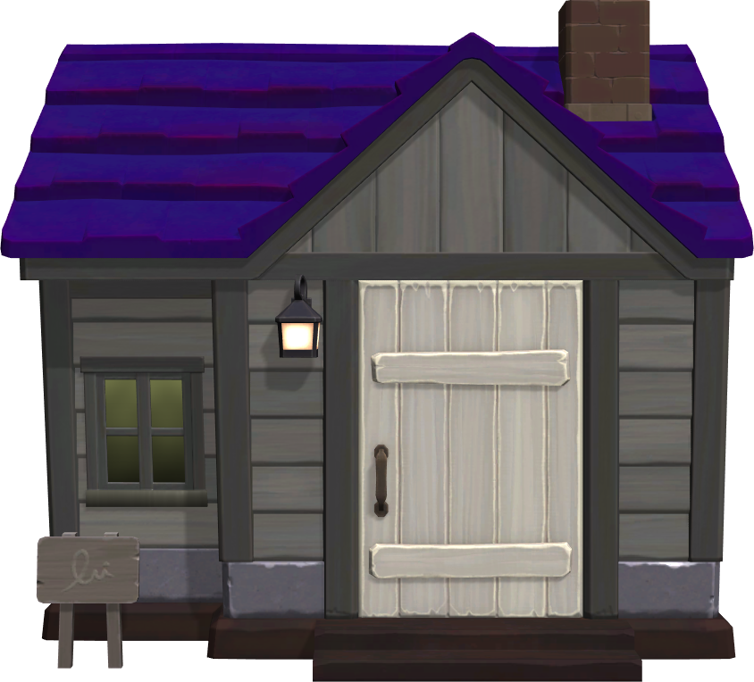 Exterior of Lobo's house in Animal Crossing: New Horizons