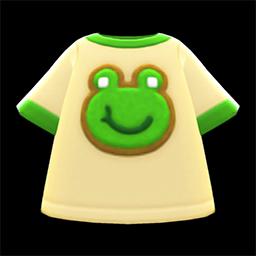 Frog Tee (New Horizons) - Nookipedia, the Animal Crossing wiki