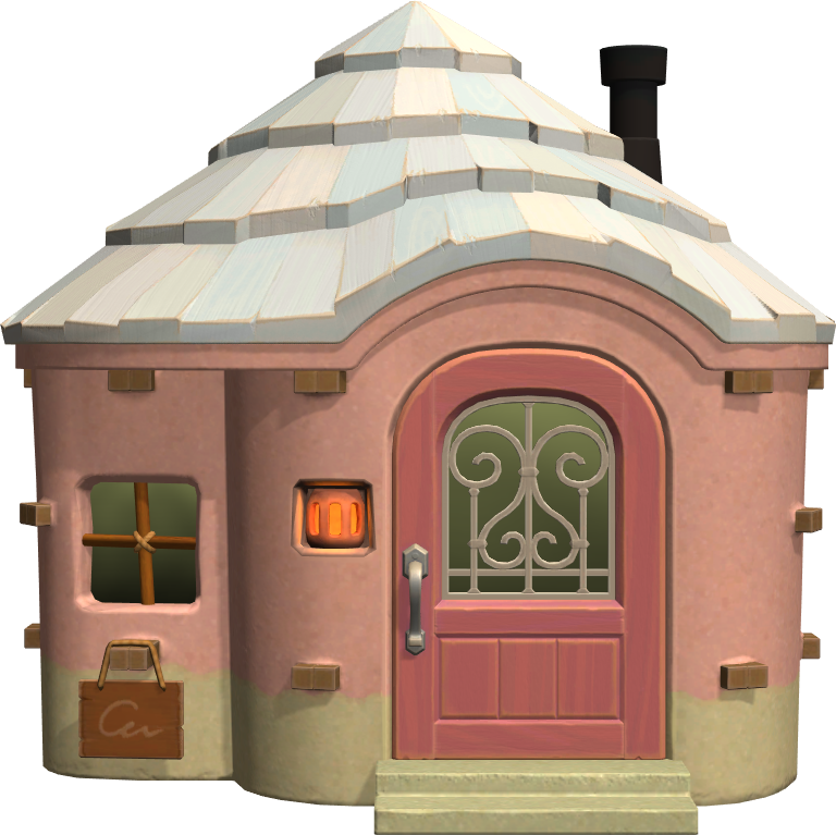 Exterior of Flora's house in Animal Crossing: New Horizons