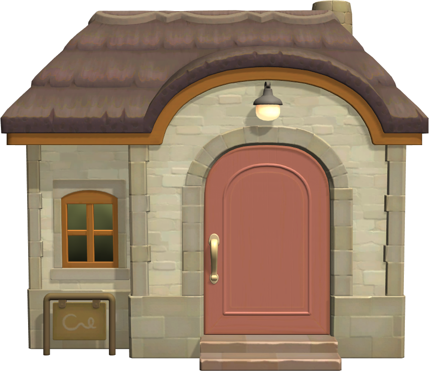 Exterior of Marina's house in Animal Crossing: New Horizons
