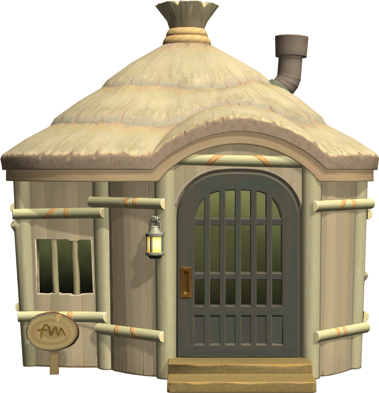 Exterior of Rolf's house in Animal Crossing: New Horizons