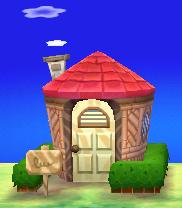 Melba's house exterior