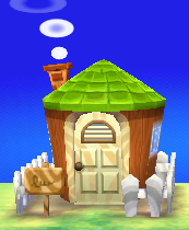 Exterior of Viché's house in Animal Crossing: New Leaf