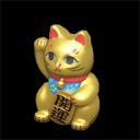 Lucky Gold Cat